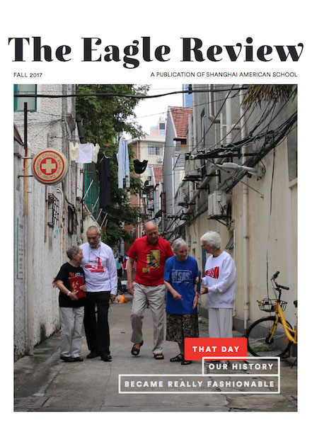 The Eagle Review Cover Page