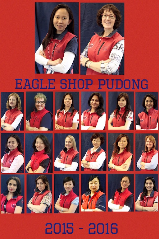 Eagle Shop Pudong Volunteers